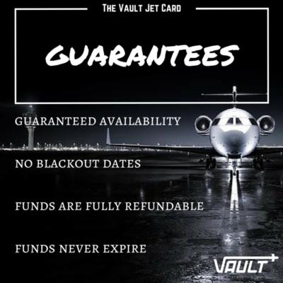 Vault Jet Card Infographics
