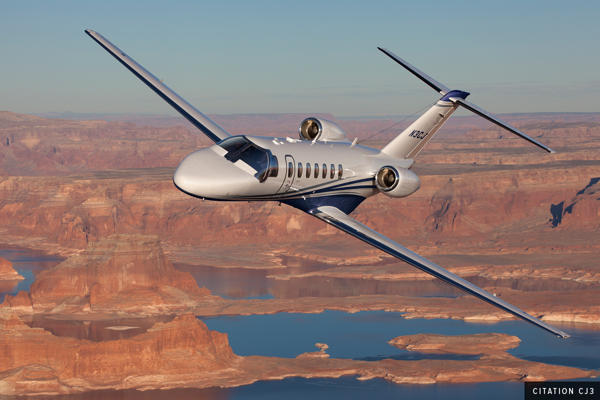 Light Jet Citation CJ3 Exterior