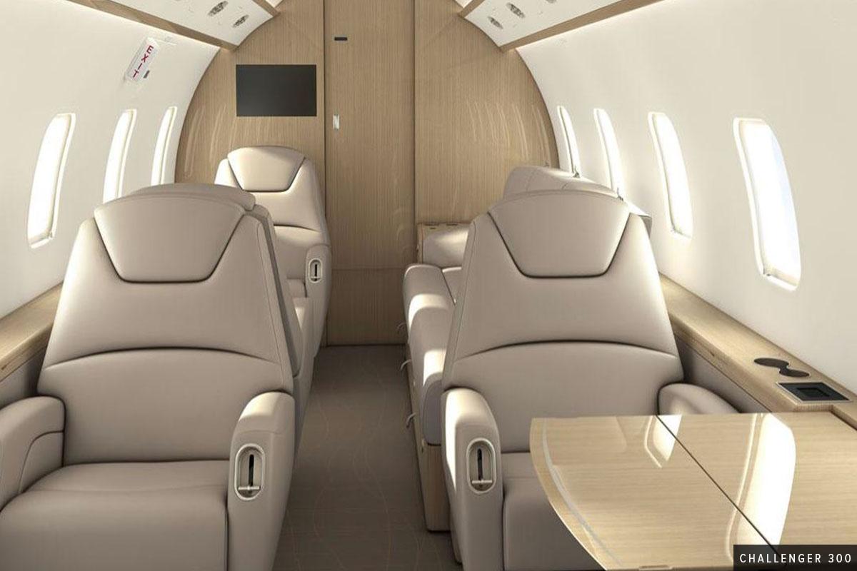 Super Mid - Challenger 300 Interior