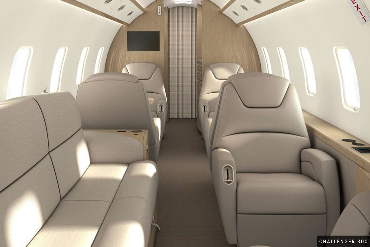 New Super Mid Challenger 300 Interior