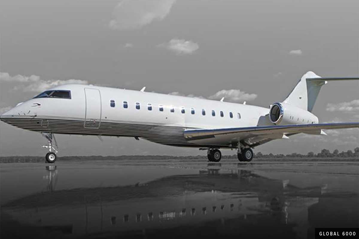 Heavy Cabin - Global 6000 Exterior
