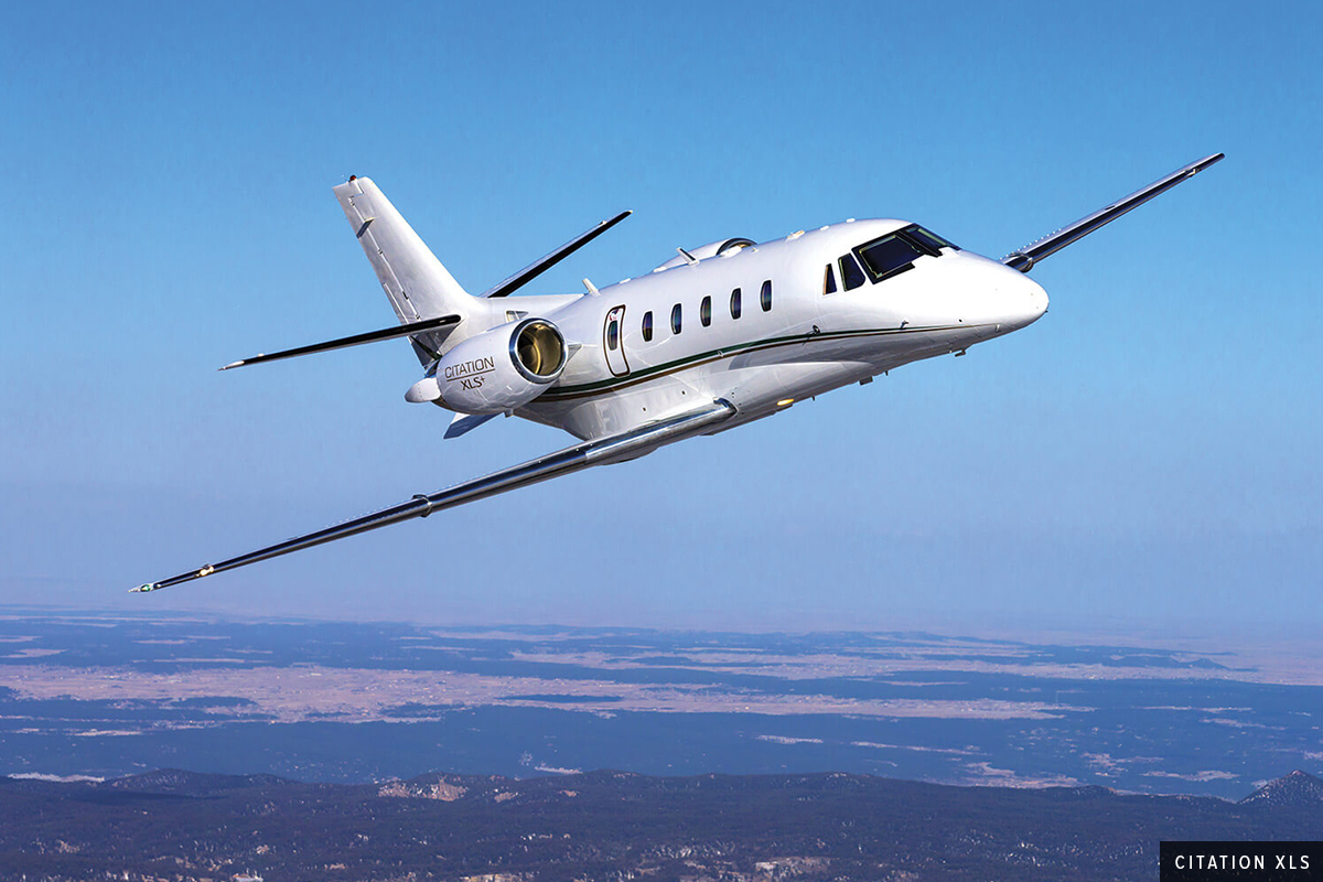 Midsize Jet Citation XLS Exterior