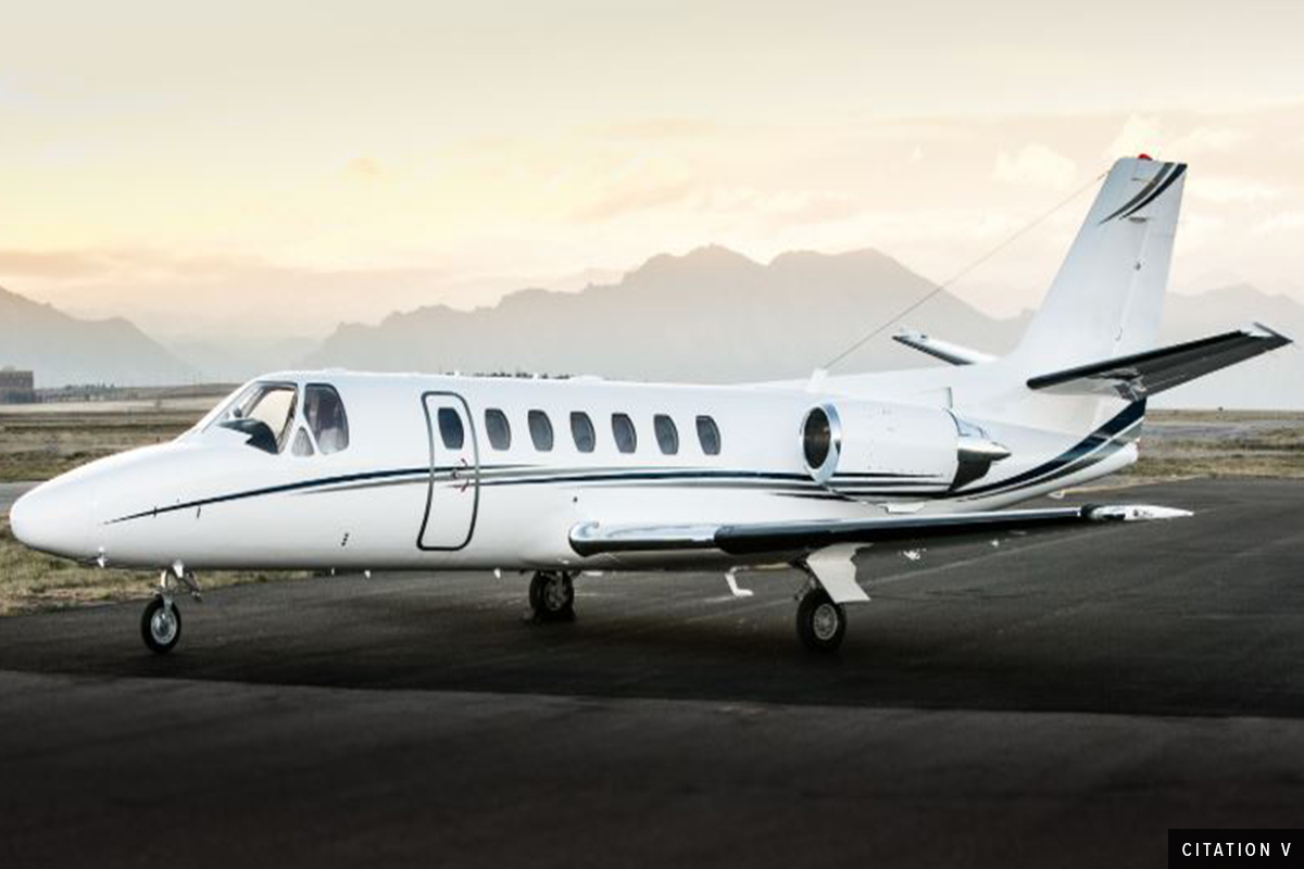 Light Jet Citation V Exterior