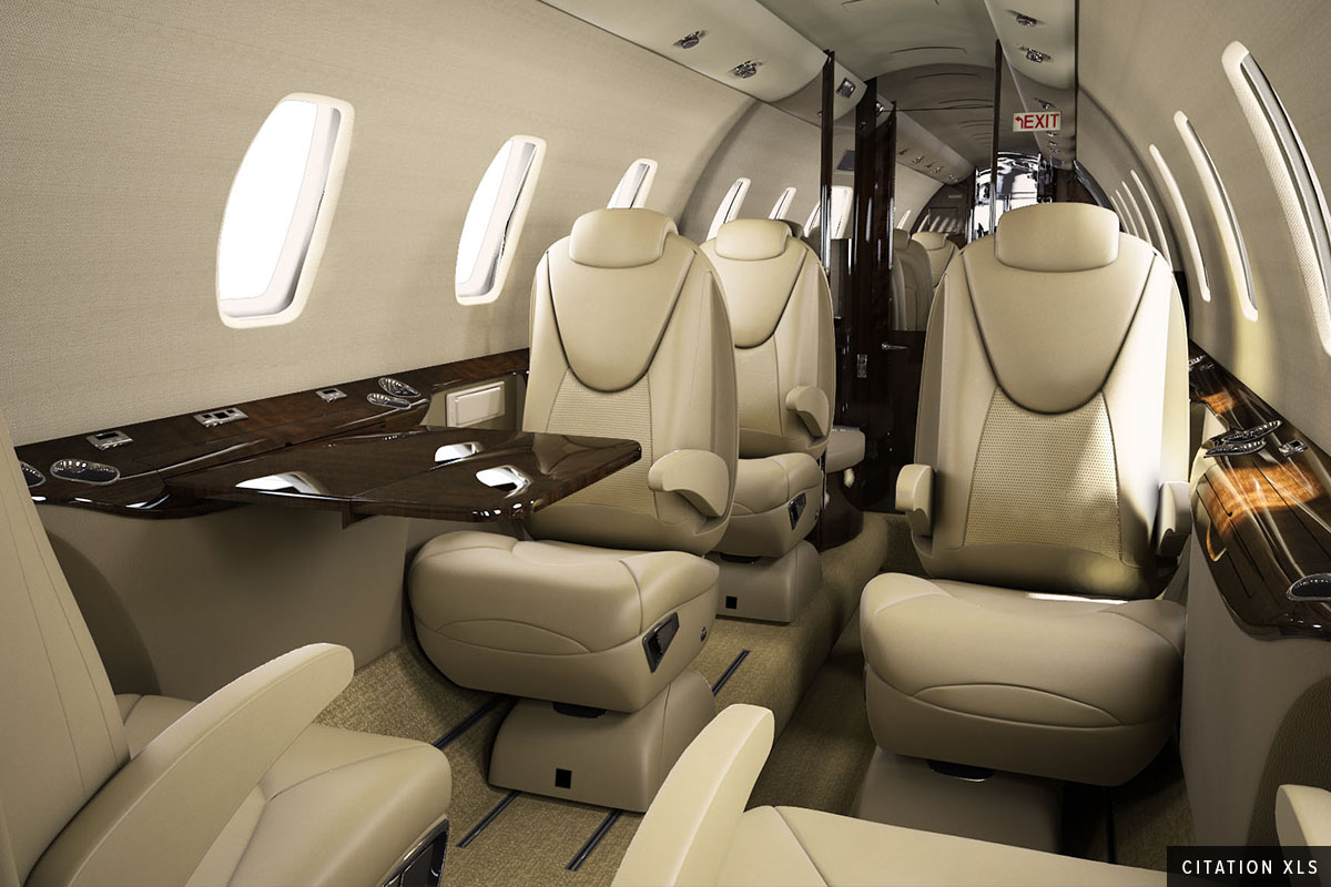 Midsize Jet Citation XLS Interior