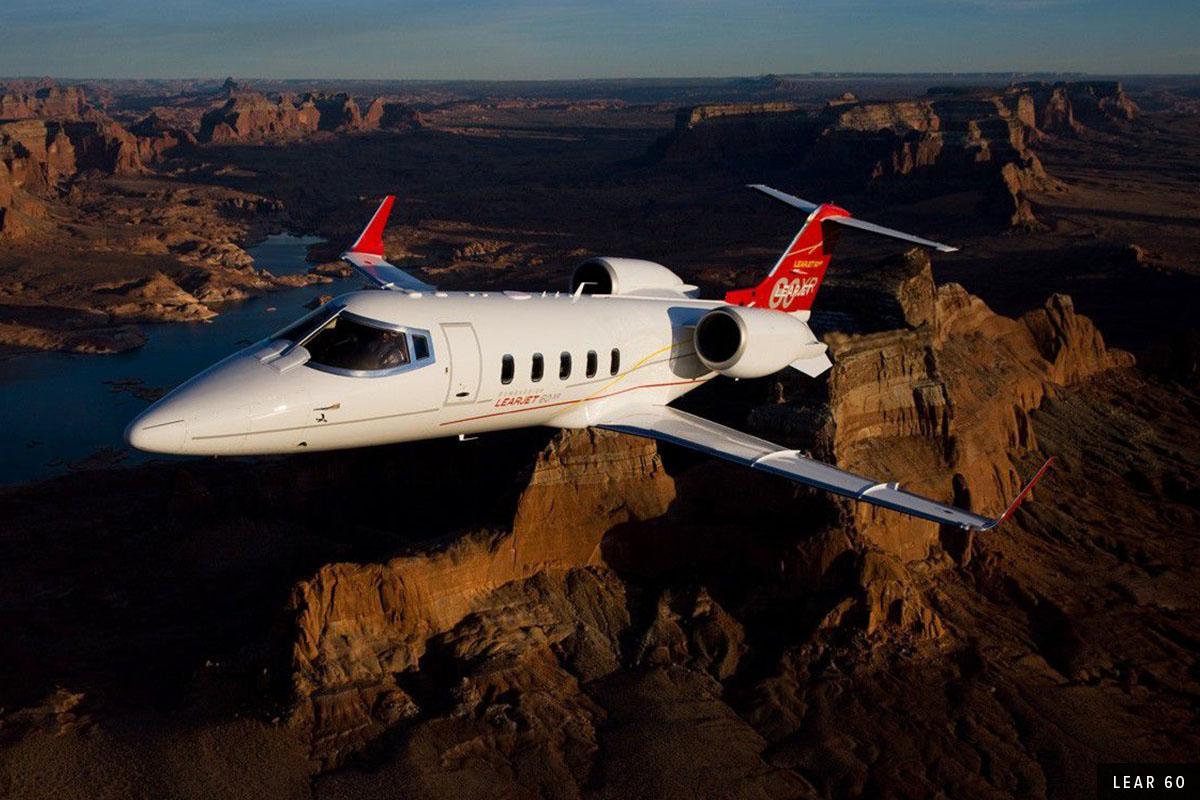 [6] Midsize Jet - Lear 60 Exterior