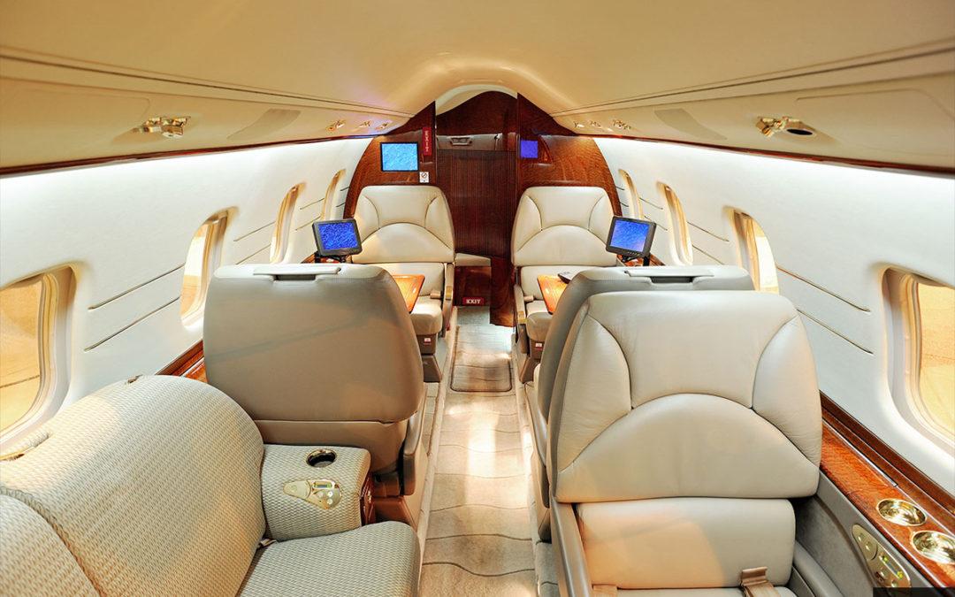 Midsize Jet Lear 60 Interior