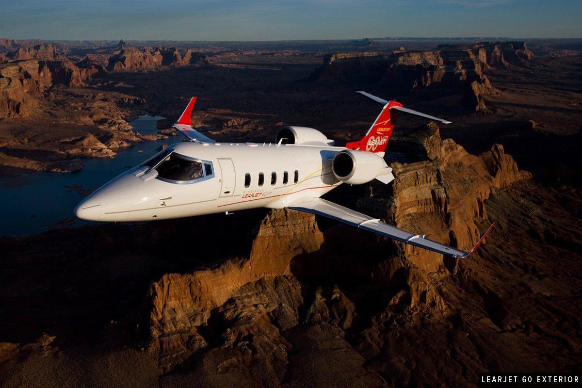 Midsize Jet - Learjet 60 Exterior