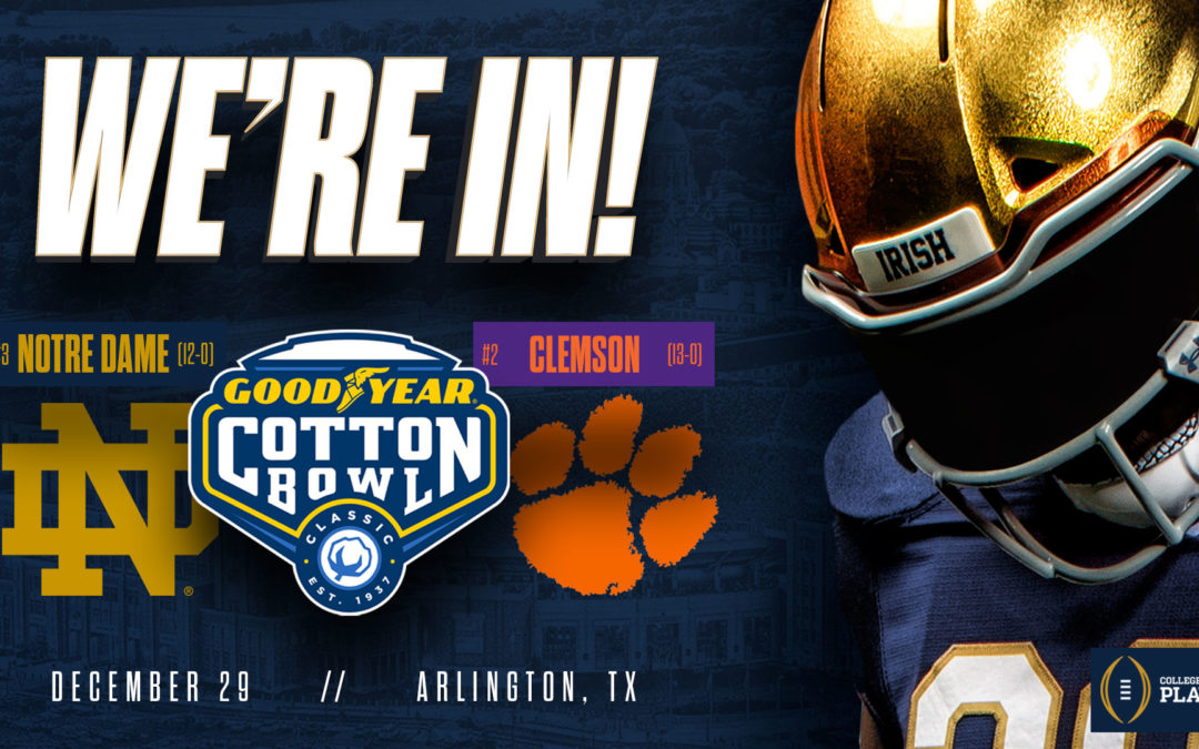 Notre Dame vs. Clemson | Cotton Bowl | College Football Playoff