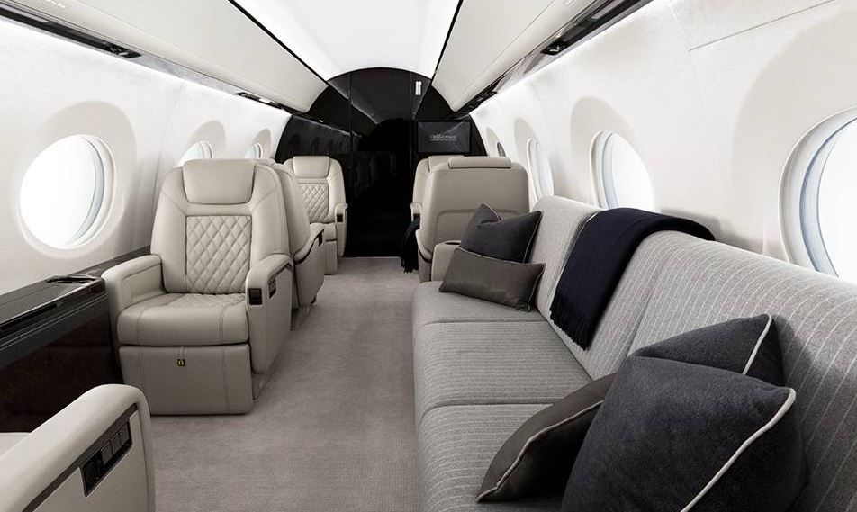 Valentine's Day on a private jet charter